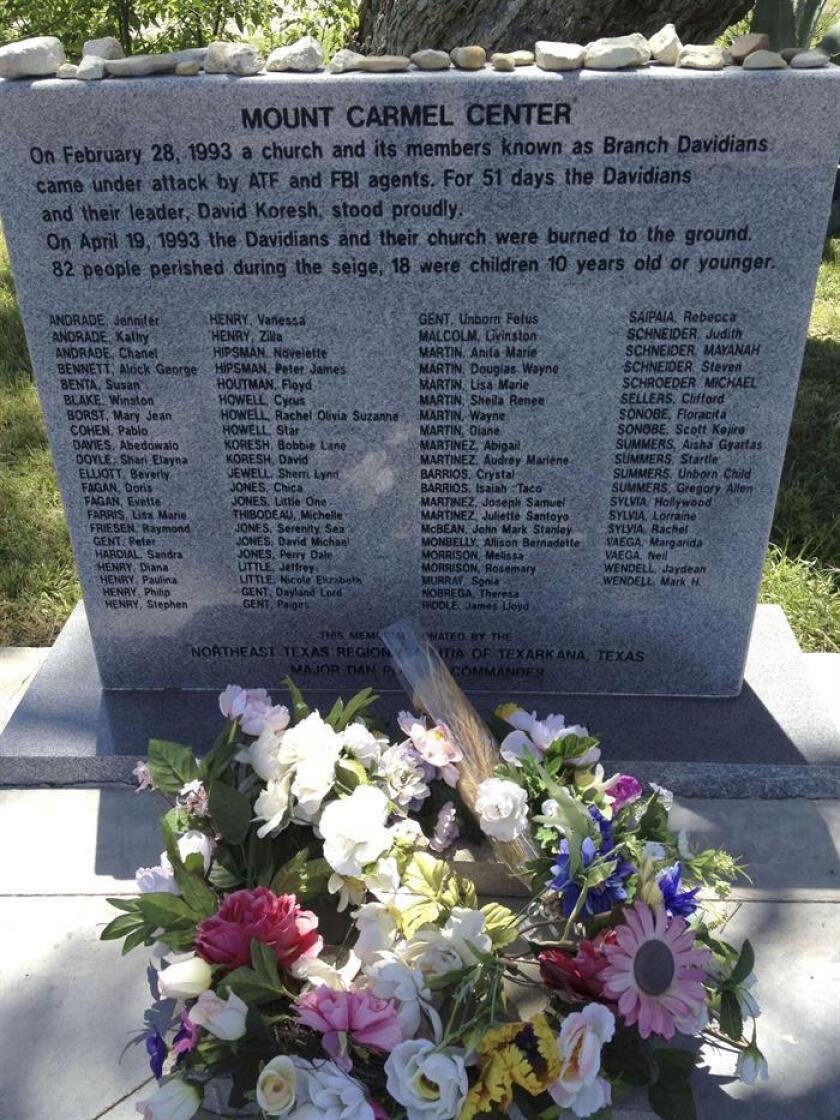 En los campos de Texas, 25 años años después, un rancho mantiene su atmósfera sombría sin que se haya podido esclarecer cómo pudo ocurrir una de las tragedias más tristes de los Estados Unidos, la masacre de la secta de los davidianos en Waco. EFE/Archivo