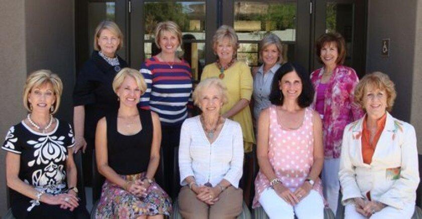 Crystal Ball Gala Committee Members: Top row: Patricia Hodgkin, Mary Ann Bosanac, Judy Keys, Kim Grant, Sheri Hallis. Bottom row: Jan Reital, Kayleen Huffman, Sharon Stein, Karen Kogut, Jeri Rovsek.