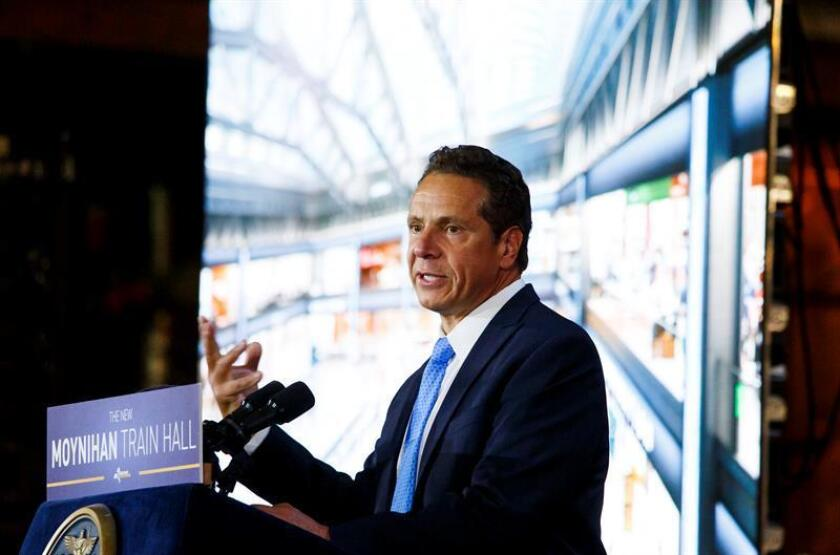 El gobernador de Nueva York, Andrew Cuomo. EFE/Archivo