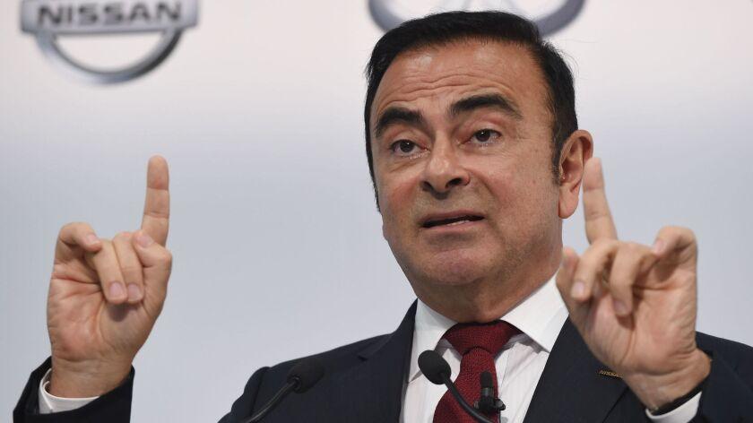 Carlos Ghosn in 2015.