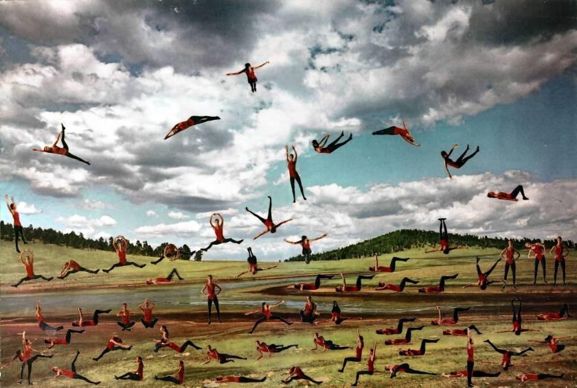 "Martha Rosler's ""Nature Girls (Jumping Janes), "" at MOCA."