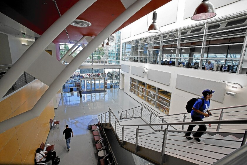 Compton Community College library opens seven years later than planned
