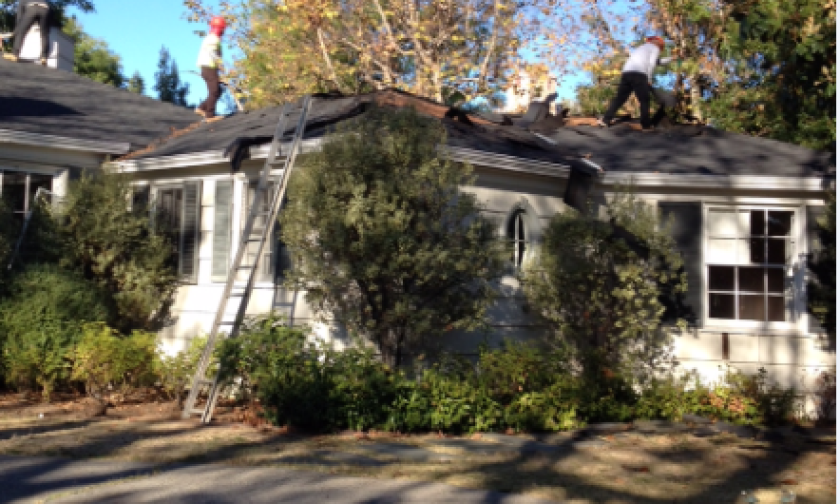 Workers had already begun dismantling a Brentwood house designed by Paul R. Williams when city officials issued a stop-work order Wednesday.