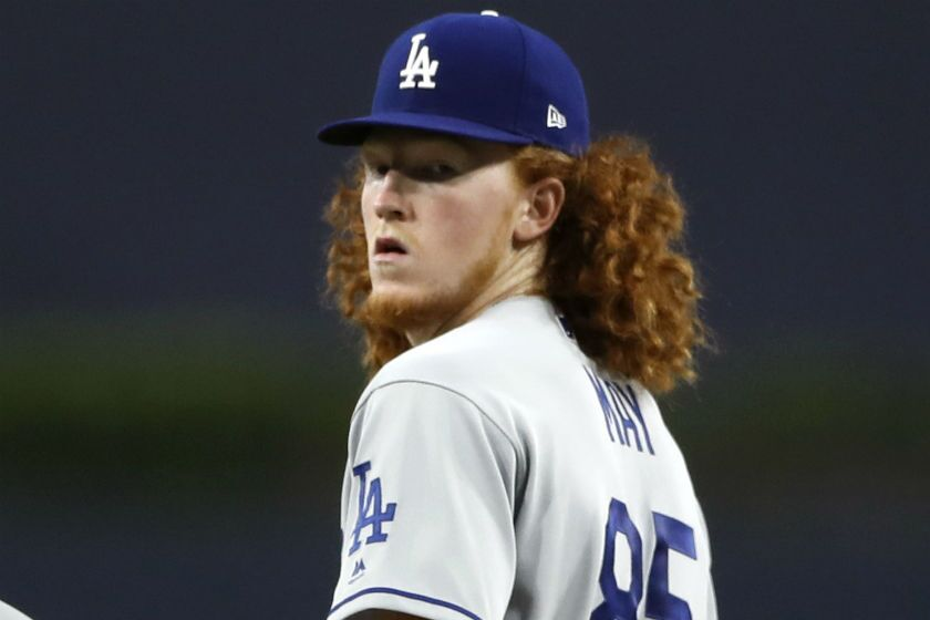 Dustin May will start Game 3 of the National League Division Series against the San Diego Padres.