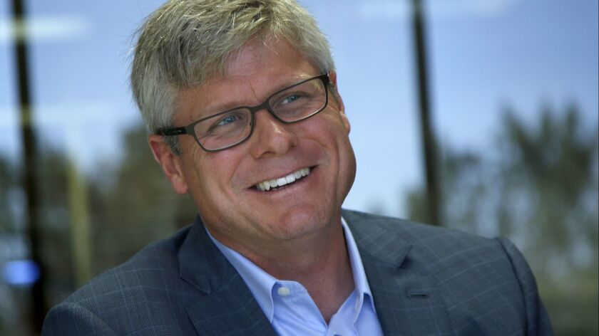 Qualcomm CEO Steve Mollenkopf received an option grant from the company's board of directors for his work during a tumultuous 2018