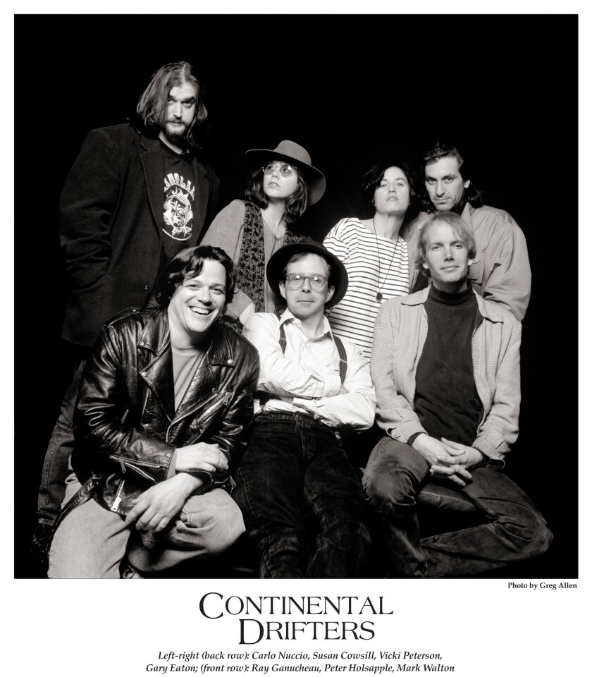 Continental Drifters in 1992