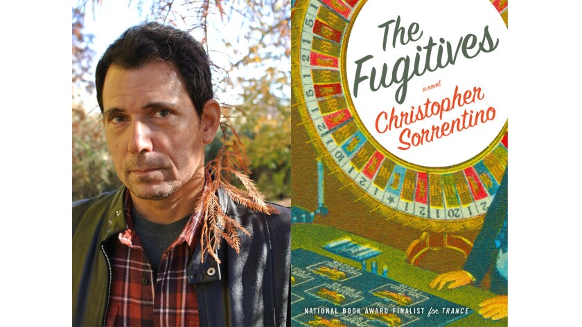 "Christopher Sorrentino, author of the book ""The Fugitives."""
