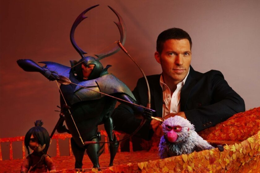 """""""I – and many of the artists on this show – found so much of ourselves in this boy. Effectively, he's an artist, he's a storyteller, he's a musician, he's an animator,"""" says Laika chief Travis Knight."""