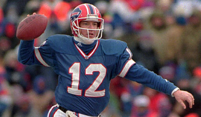 Buffalo Bills legend Jim Kelly faces another battle with cancer - Los  Angeles Times