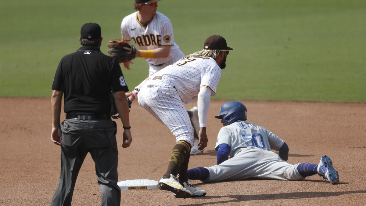 Padres Lose Game Series And More Ground To Dodgers Who Clinch Playoff Spot The San Diego Union Tribune