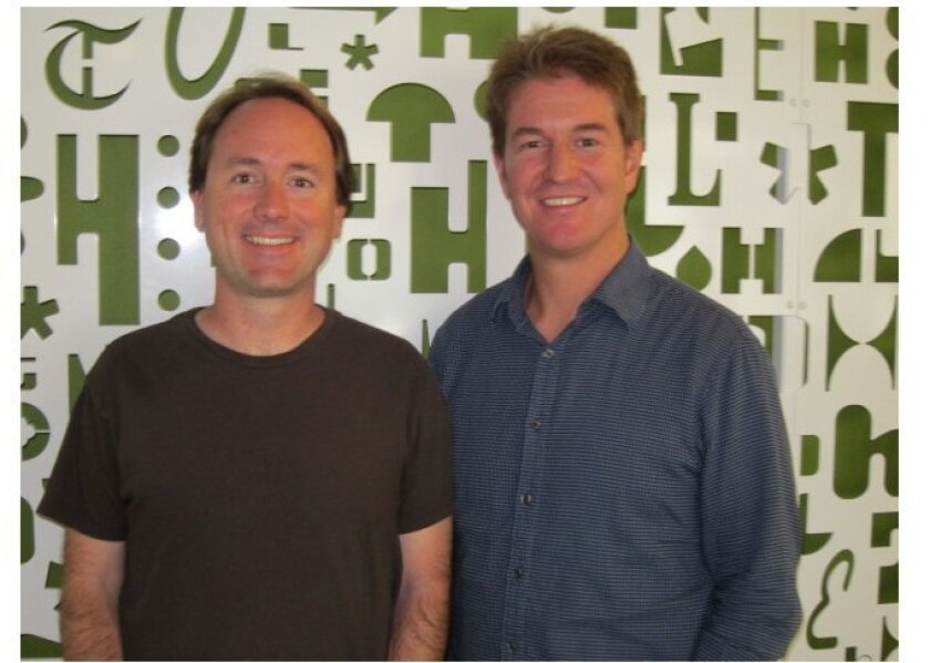 James Fowler (left) is a professor of medical genetics and political science at UCSD. David Borgo is an associate professor of music at UCSD.