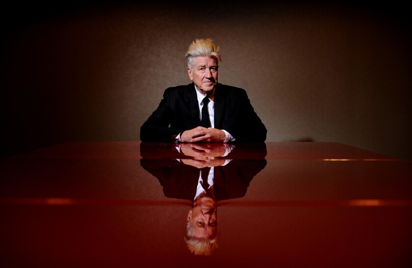 LOS ANGELES, CALIFORNIA MAY 25, 2016-Writer, directoer and producer David Lynch hosted the Super Min
