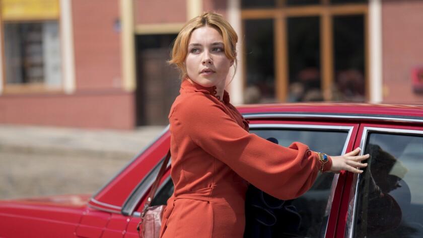 "Florence Pugh in ""The Little Drummer Girl"" on AMC."
