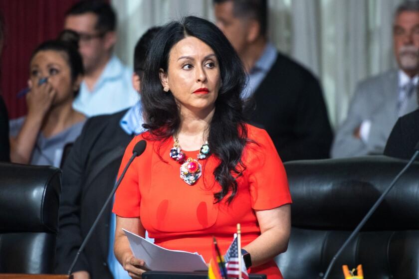 Los Angeles City Council President Nury Martinez