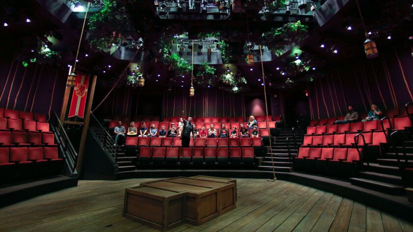 Go behind the scene at The Old Globe