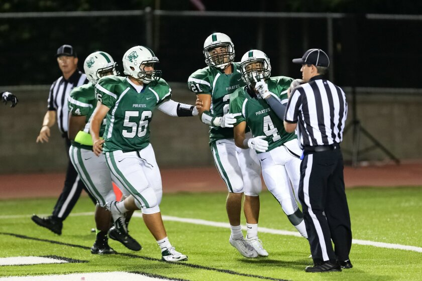 For the second straight week, Oceanside received all 19 first-place votes in the San Diego Section high school football rankings.