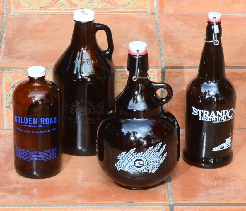 Bottomless beer bottles -- where to find growlers in L.A.