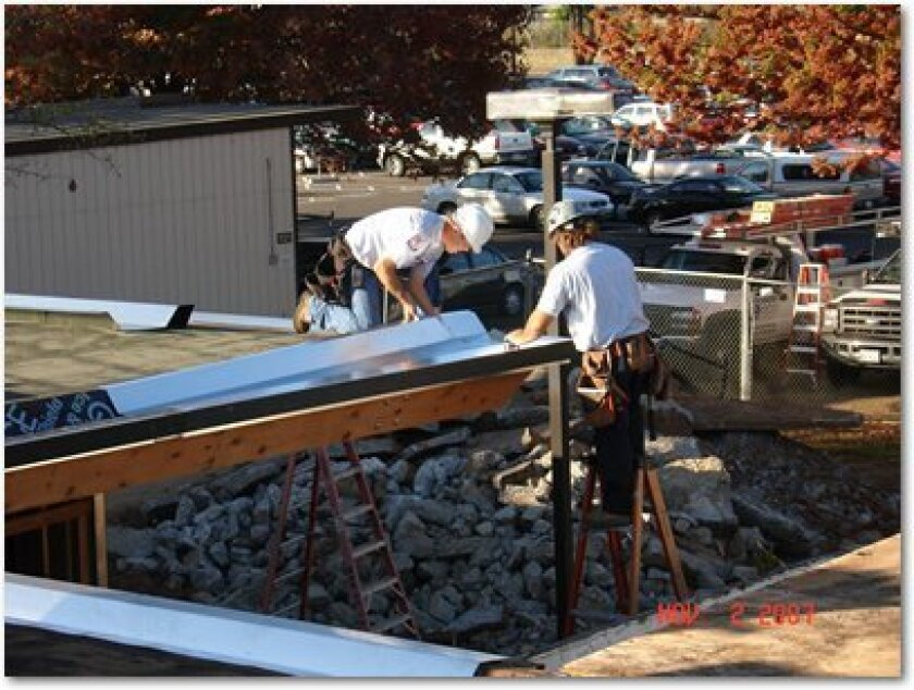 Measure J bond construction at Yuba Community College District, where a $4.6 million bond will cost $54 million to pay back after a borrowing advice from Albert Alt, who has been hired at Sweetwater schools.