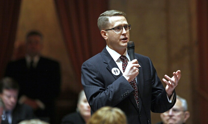 Washington state Rep. Matt Shea, branded as a 'domestic terrorist,' refuses to resign