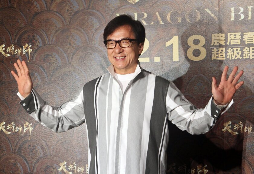 """The sudden surge of """"Duang"""" comes as actor Jackie Chan is enjoying a bit of a comeback. His latest film, """"Dragon Blade,"""" performed strongly over the Chinese New Year holiday in February."""