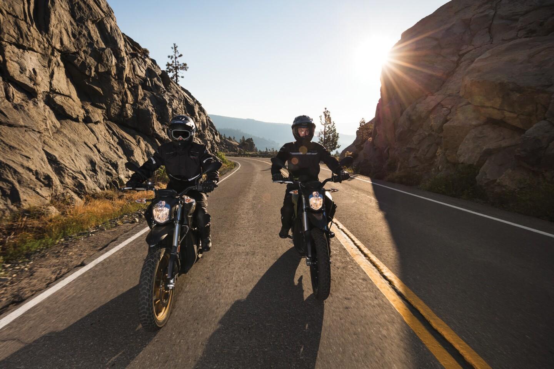 Zero DSR electric motorcycle