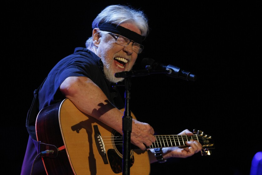 Bob Seger performs at Viejas Arena at San Diego State University on Feb 25, 2015.