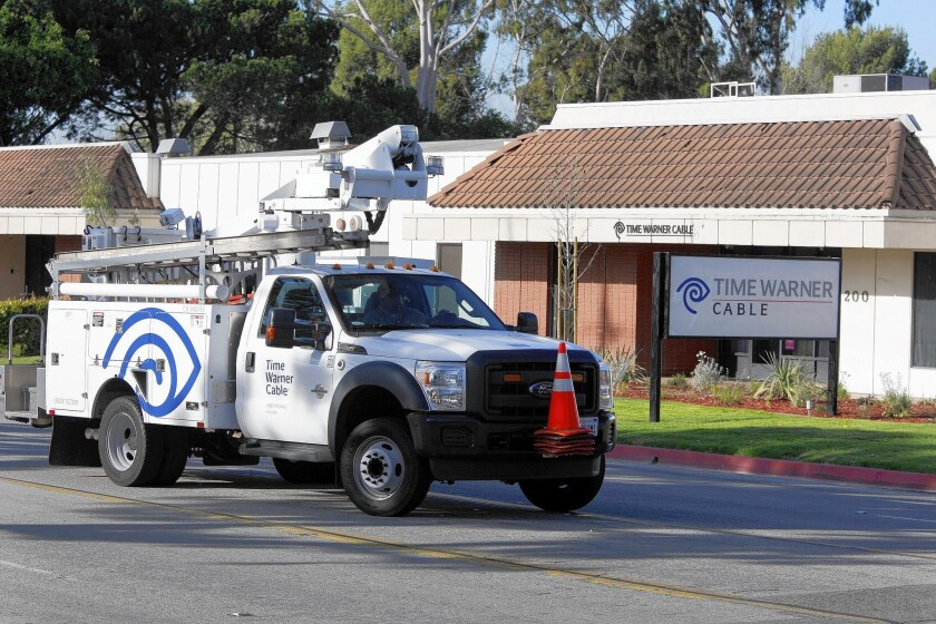 L.A. sues Time Warner Cable over fees