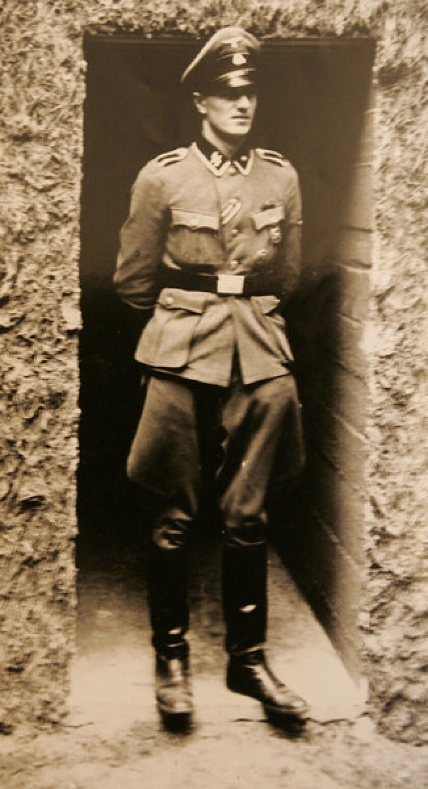 Hitler bodyguard Rochus Misch in 1944