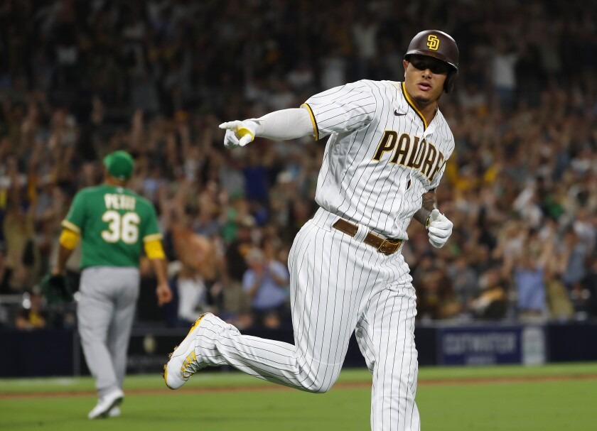 The Padres' Manny Machado