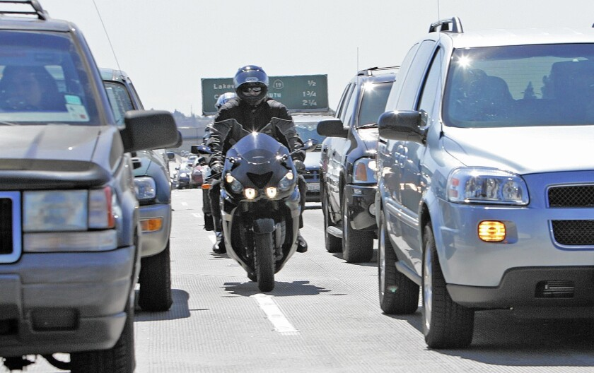 Neither explicitly legal nor illegal, lane-splitting has had the tacit approval of the California Highway Patrol and the Department of Motor Vehicles.