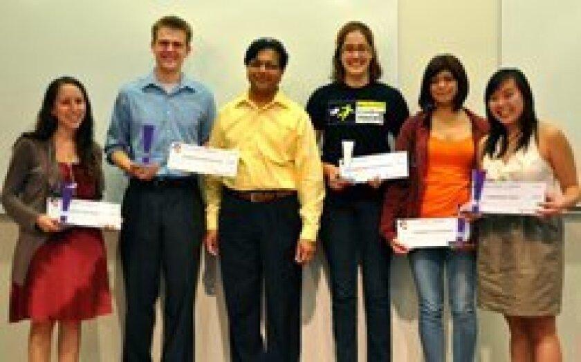 Ayelet Bitton, Derrick McMillen, Rajesh Gupta, Marjori Pomarole, Theresa Calderon, Kristina Thai.