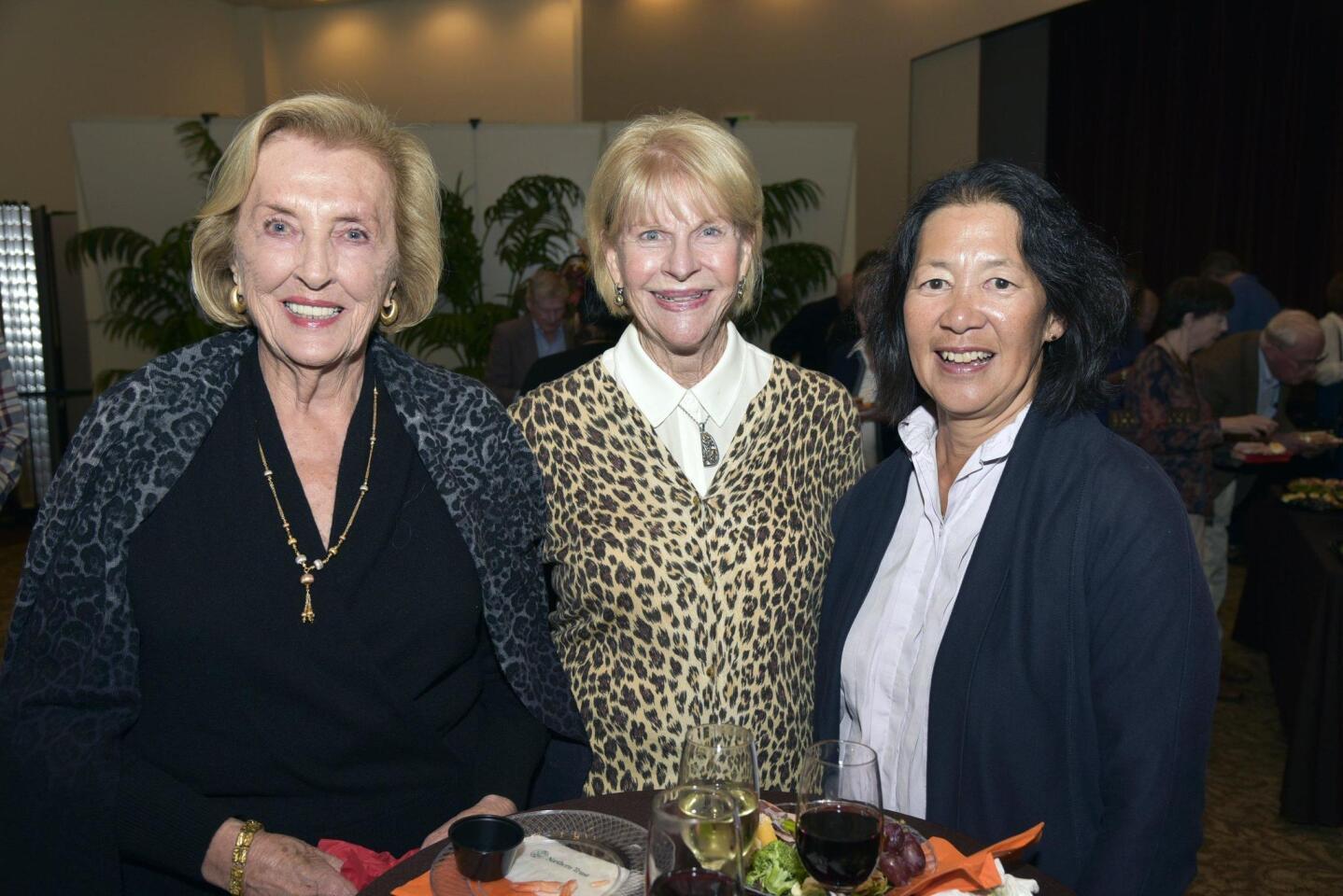 Gloria McColl Powell, Pat Coseo, Mary Liu