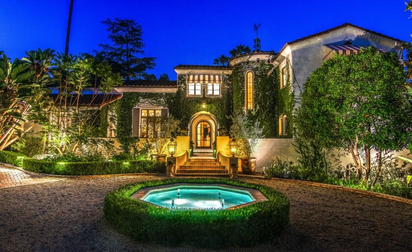 Sheri Salata's Spanish Colonial estate