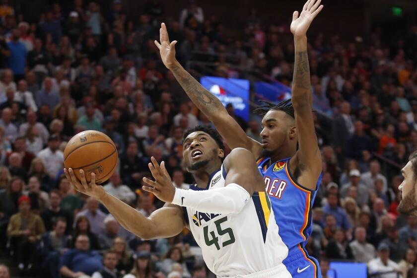 Thunder Jazz Basketball