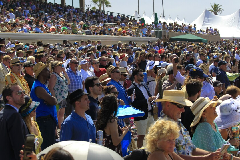 Opening Day at  Del Mar Racing
