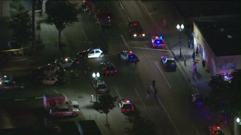 Two suspects were fatally shot Thursday night in a shooting involving Santa Ana police.
