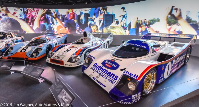 Motorsports collection in the Charles Nearburg Family Gallery