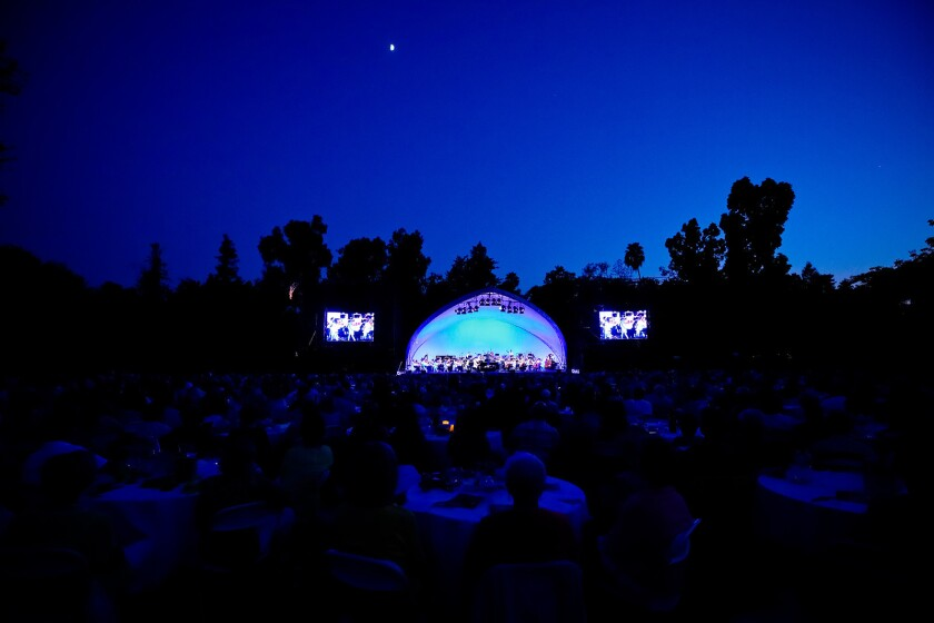 The Pasadena Symphony's summer pops series has its biggest show Saturday, Aug. 18, 2018 as conductor