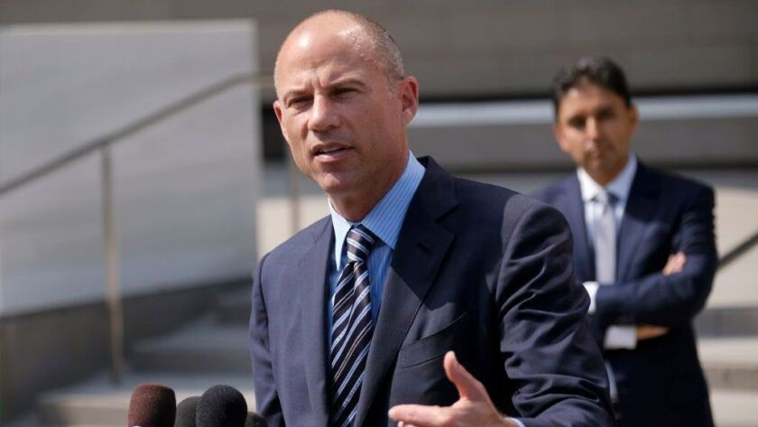 U.S. prosecutors announced Monday that they have charged Michael Avenatti with extortion and bank and wire fraud. A spokesman for the U.S. attorney in Los Angeles said Avenatti was arrested Monday in New York.
