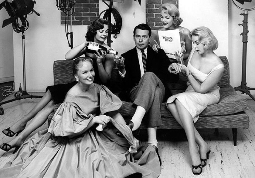 "John Forsythe played a lawyer whose life was flooded with beautiful women on ""Bachelor Father."""