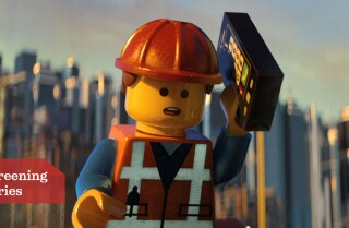 'The Lego Movie': Chris Pratt in the booth