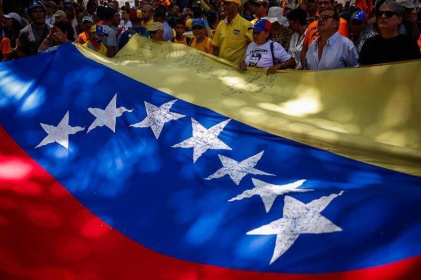 Estados Unidos planea pedir la suspensión de Venezuela durante la próxima Asamblea General de la OEA, su foro político más importante que se celebrará en Washington el 4 y el 5 de junio. EFE/Archivo