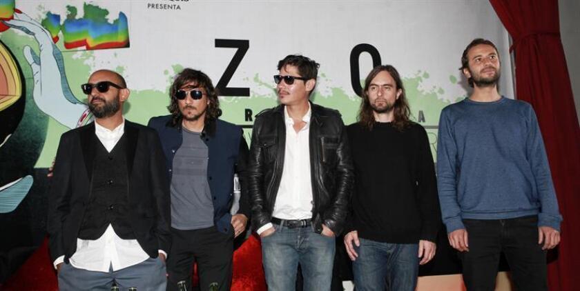 """La última visita del grupo mexicano a Bolivia fue en 2014, para promocionar su disco """"Programatón"""", y este es su tercer concierto en el país. EFE/Archivo"""