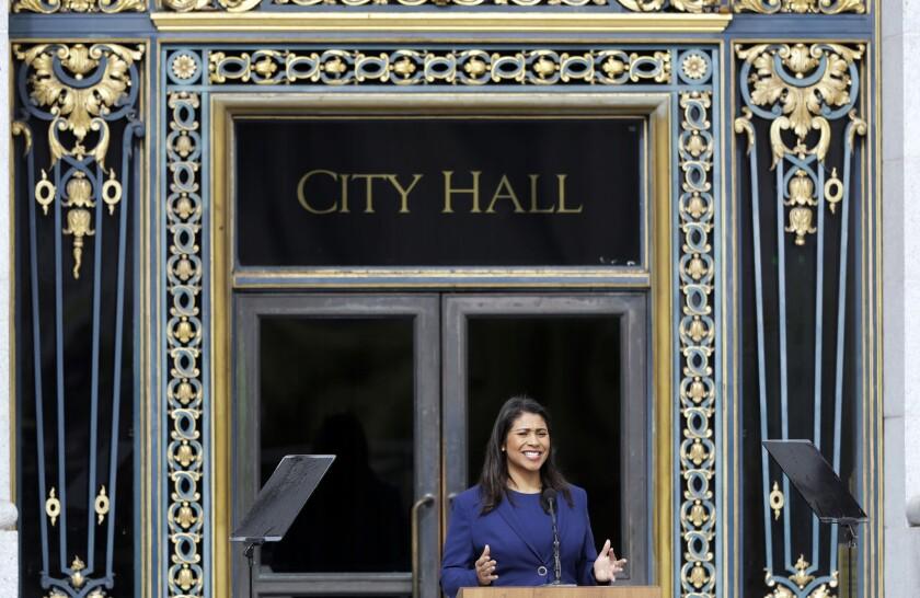San Francisco Mayor London Breed.