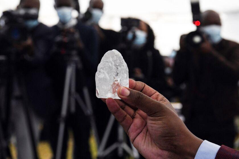 1,098-carat diamond discovered in Botswana