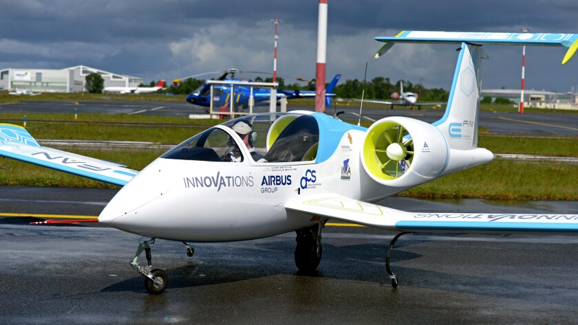 No flying Tesla? That's because electric planes are a steeper