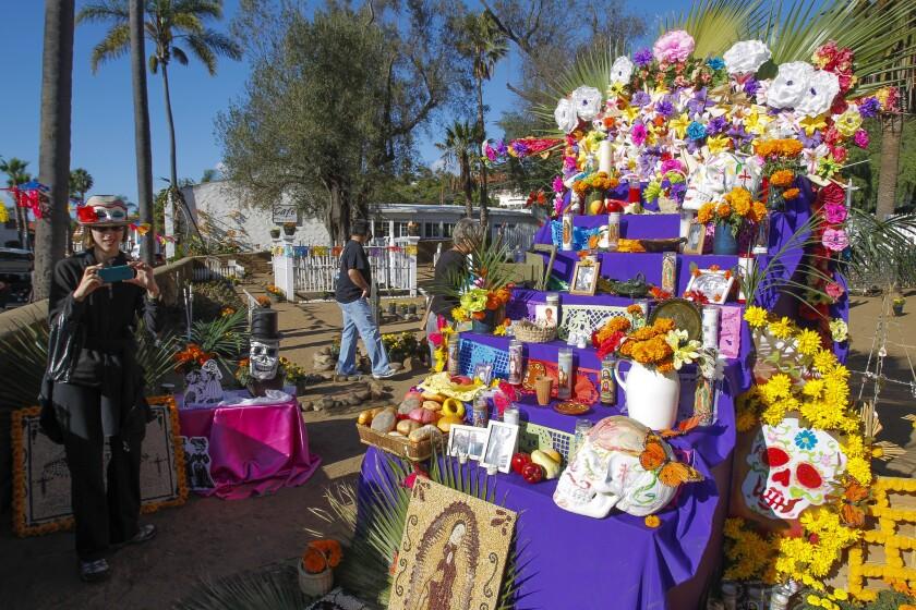 Old Town Dia de Los Muertos.