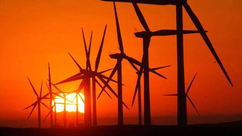 Gigantic wind turbines
