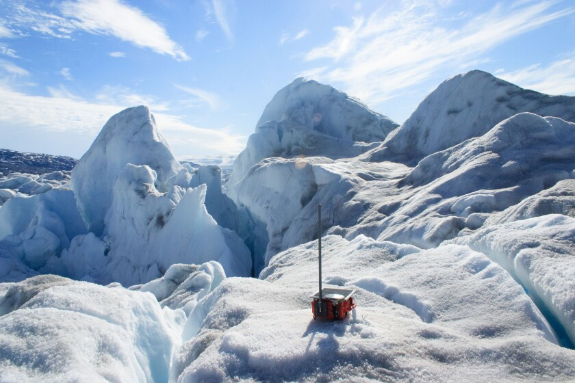 Scientists used GPS monitors to observe glacial earthquakes, which could help them track the loss of calving glacier ice.