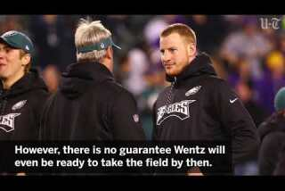 Carson Wentz's road to recovery probably remains same distance, just bumpier